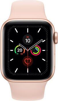 Wie%20neu: Apple Watch Series 5 | 40 mm | Aluminium | GPS | gold | Sportarmband rosa