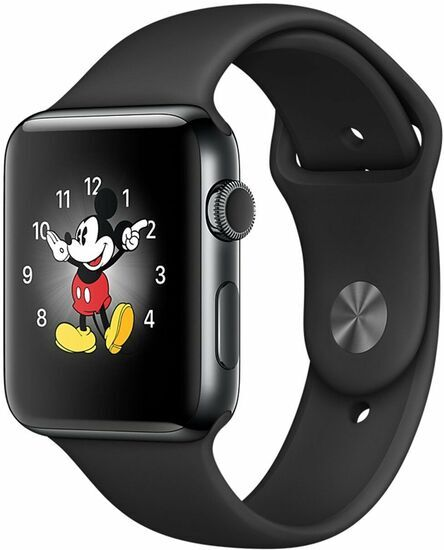 Apple Watch Series 2 Edelstahl 38mm