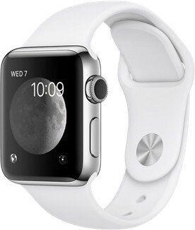 Apple Watch Series 2 Edelstahl 38mm