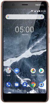Wie neu: Nokia 5.1 | 2 GB | 16 GB | Dual-SIM | kupfer