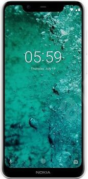 Wie neu: Nokia 5.1 Plus | Dual-SIM | weiß
