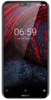 Wie neu: Nokia 6.1 Plus | Dual-SIM | schwarz
