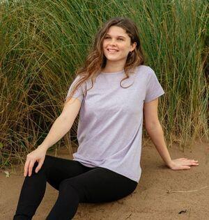 Panie Recycled Organic T-Shirt