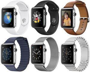 Apple Watch Series 2 Edelstahl 42mm