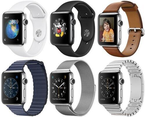 Apple Watch Series 2 Edelstahl 42mm