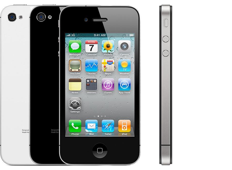 iphone 4 8 gb schwarz gebraucht refurbished. Black Bedroom Furniture Sets. Home Design Ideas