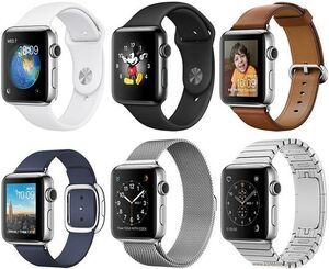 Apple Watch Series 2 Keramik 38mm