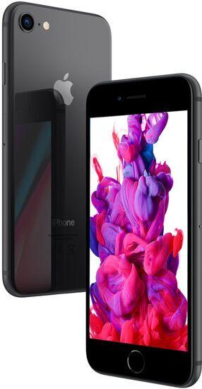 apple iphone 8 64 gb silber gebraucht refurbished. Black Bedroom Furniture Sets. Home Design Ideas