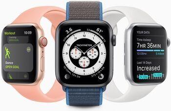 Apple Watch Series 6 Alluminio 44mm GPS blu (Ricondizionato)