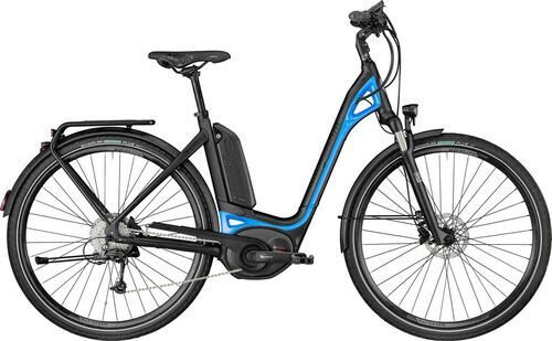 Bergamont E-Ville Deore | 2018 | E-Citybike | schwarz/blau