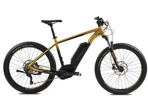 Ghost Teru GS   2018   Mountain bike elettrica a sospensione anteriore   oro