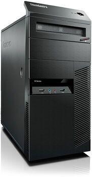Wie neu: Lenovo ThinkCentre M93p Tower   Intel 4th Gen   i5-4670   8 GB   500 GB HDD   DVD-RW   Win 10 Pro