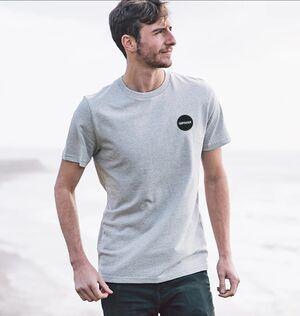 Herren Circular Logo T-Shirt