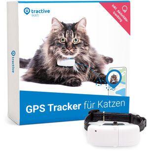 Tractive GPS Tracker für Katzen (2021) mit Aktivitätstracking und unlimiterter Reichweite | EXKL. ABO